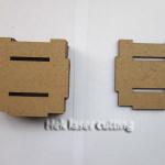 MDF laser cut parts