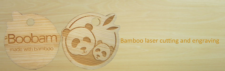 laser cutting and engraving bamoo services in China