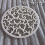 Laser cutting DIY coaster