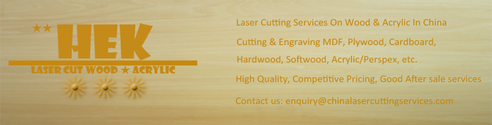 Laser cutting & Laser engraving